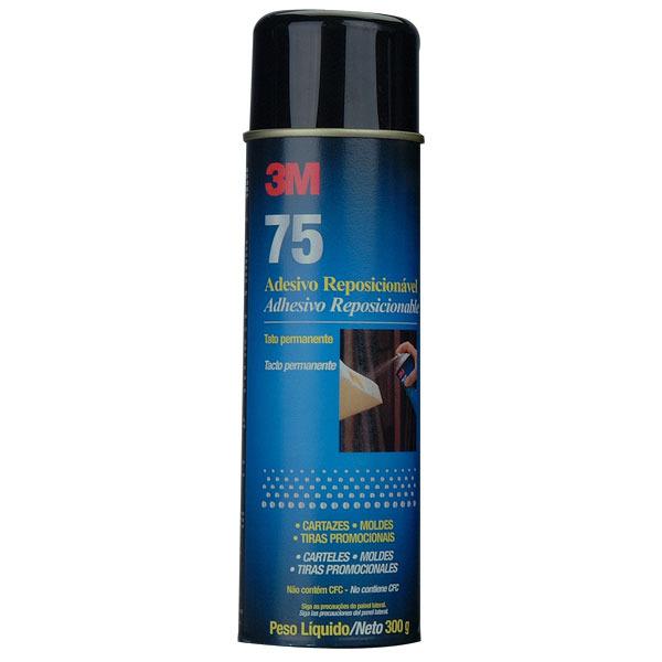 Adesivo Spray Reposicionavel 75 3M
