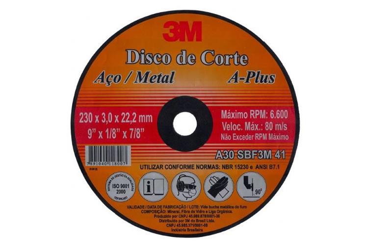 Disco de Corte A-Plus 3M