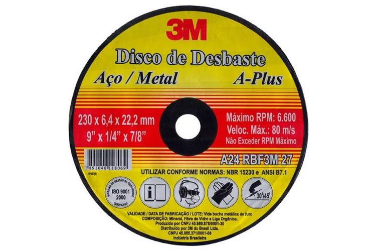 Disco de Desbaste A-Plus 3M