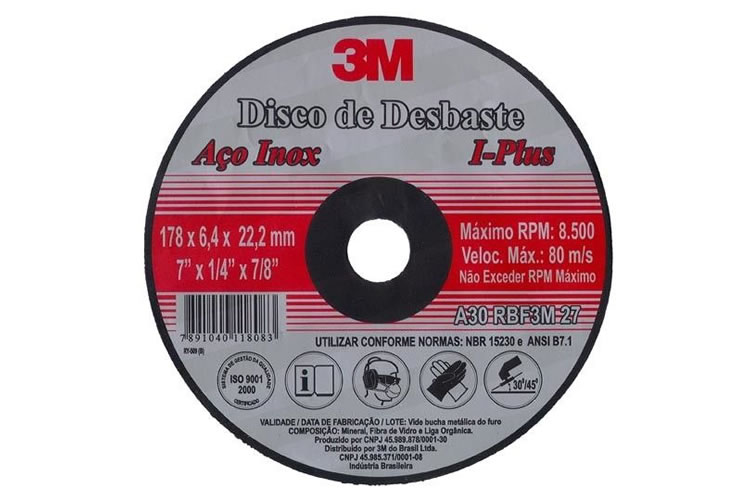 Disco de Desbaste I-Plus 3M